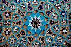Masjid-e-Jameh, Yazd, Iran Islamic Decor, Islamic Art, Plant Painting, Pattern Drawing, Fantastic Art, Bath Decor, Arabesque, Art And Architecture, Ceramic Pottery