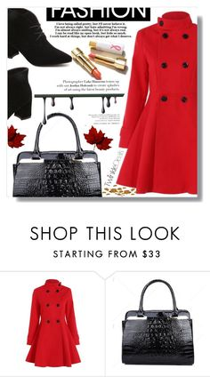 """""""Red attitude"""" by fashion-pol ❤ liked on Polyvore"""