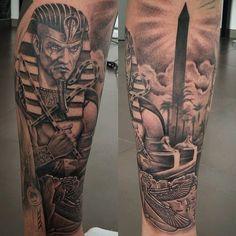 Egyptian tattoo ankh eye of horus anubis 13 Tattoos, Body Art Tattoos, Small Tattoos, Tattoos For Guys, Tattoo Drawings, Tatoos, Egyptian Tattoo Sleeve, Leg Sleeve Tattoo, Arm Tattoo