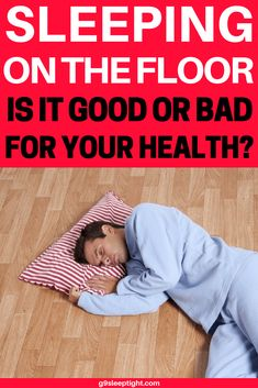 Once you start sleeping on the floor, you might never want to go back to the bed as it is not only more comfortable but you will also get rid of the back pain and the mild morning stiffness. Japanese Style Bed, Sleep On The Floor, Comfort Mattress, Healthy Sleep, Wellness Fitness, Bed Styling, For Your Health, Back Pain, Health Tips
