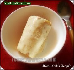 Tourist Attraction India: Indian Food : Badam Kulfi