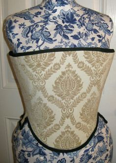 Tudor Corset - Short stays - pair of bodies -Custom order