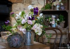 Cripps Barn Wedding, Barn Wedding Venue, Barn Wedding Flowers, Stone Barns, Table Scapes, Table Flowers, Crates, Floral Design, Cottage