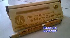 Quà giáng sinh - Noel độc đáo ★★★★ Quà tặng gỗ Merry Christmas★★★★ bút gỗ giá rẻ nhất hcm