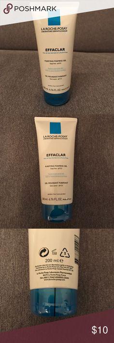 La Roche-Possay Effaclar La Roche-Posay Effaclar, Purifying Foaming Gel, Soap-fee pH5.5, Tested on acne-prone skin, paraben-free, 200ml, 6.676 fl. oz., Made in France, NEW, STILL IN PACKAGING La Roche-Posay Makeup