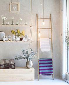 Comprar pl stico lindo colgante de pared - Escalera de bambu ...