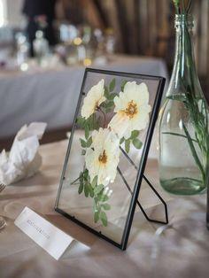 Seating arrengement - table numbers as flowers