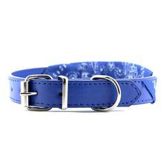 Collier pour chien avec foulard bleu taille M. Ce collier pour chien pas cher au style #bandana est adorable autour du cou d'un #chien ! Cet accessoire se décline en plusieurs coloris et tailles pour chaque chien ! Nous pensons à tout le monde chez My-Animalerie.com ;) #animaux #animal #collierchien #nouveauté