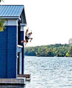 Family fun on Lake Muskoka (kids only)!!!!