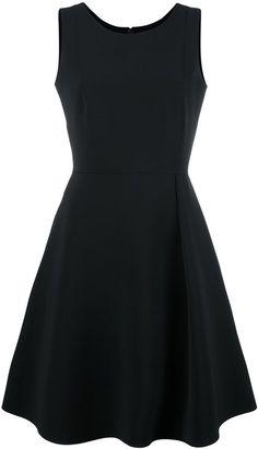 Emporio Armani flared dress   http://shopstyle.it/l/bNmL
