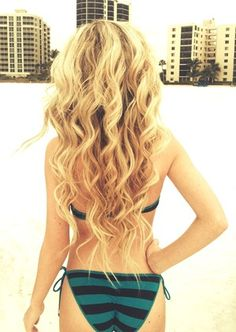 blonde wand curls - Google Search