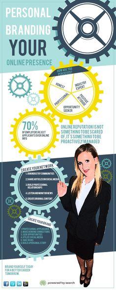 Personal Branding Online #infographic