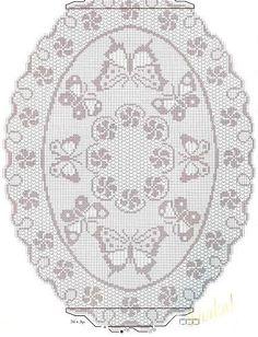 crochet butterfly - Gitte Andersen - Picasa Web Albümleri