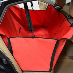 This is the style of car seat cover I'm going to make for the dogs now that I have my new car! Waterproof Dog Car Hammock Seat Cover for Pets (130 x 105 x 40cm) – USD $ 45.99