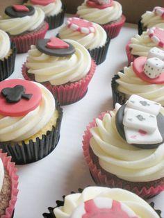 Casino theme | Cupcakes idea