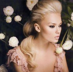 hair, make up, beautiful....
