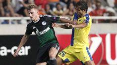 Schalke gewinnt 3:0 in der Europa League bei APOEL Nikosia | Erst Doppel-Latte, dann Doppelpack http://www.bild.de/sport/fussball/europa-league/erst-doppel-latte-dann-doppelpack-42622254.bild.html