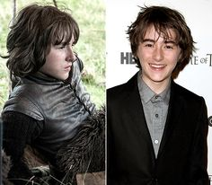 Game of Thrones Cast: What They Look Like Off-Screen!: Isaac Hempstead
