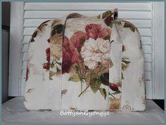 Rózsás bőrönd táska / Rose bouquet bag