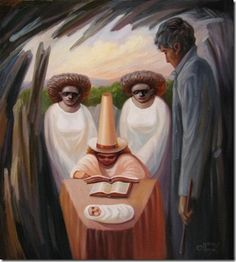 Incredible Optical Illusions Oil Paintings By Oleg Shuplyak |