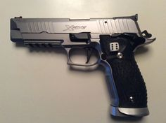 Sig Sauer p226 x five supermatch 9 mm