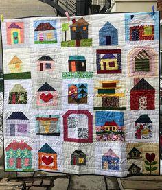 Dizzy Quilts: #QuiltsforQc Finish