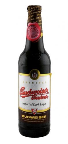 Budvar Dark Lager - slight stout and chocolatey taste thanks to the roasted malt. Strikes a fine balance between being slightly bitter and sweet - one of the finer dark largers.