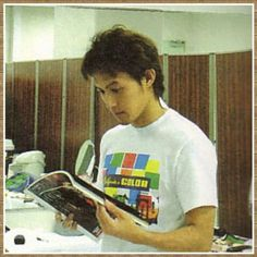 B'z Koshi Inaba backstage Elegant Man, It's Raining, Handsome Man, Backstage, Mens Tops, T Shirt, Supreme T Shirt, Man Candy Monday, Tee Shirt