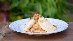 Ruské knedlíky Lenky Odvárkové Hummus, Camembert Cheese, Dairy, Ethnic Recipes, Food, Essen, Meals, Yemek, Eten