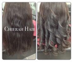 Peruvian hair Body wave from Before and after styling     www.chierah-dickson.com