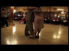 Geraldine y Javier dancing for the documentary : La confiteria Ideal....