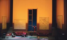 Tosca at the Metropolitan Opera. Production by Luc Bondy. Sets by Richard Peduzzi.