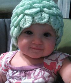 Crochet Flower Petal Hat Made to Order Baby to Child by LilyLaneCrochet, $15.00