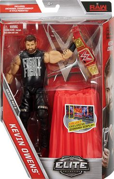 Kevin Owens - WWE Elite 47 Mattel Toy Wrestling Action Figure - http://bestsellerlist.co.uk/kevin-owens-wwe-elite-47-mattel-toy-wrestling-action-figure/