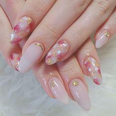 #春ネイル#ジェルネイル #ワンカラー #女子会 #ピンク #春 #お客様 #スモーキーピンク|ネイルデザインを探すならネイル数No.1のネイルブック