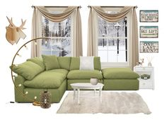 """Senza titolo #5654"" by waikiki24 on Polyvore featuring interior, interiors, interior design, Casa, home decor, interior decorating, Liz Claiborne, Bungalow 5, Joybird e The White Company"