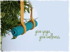 Give the Gift of Yoga, Give Wellness! from Be Yoga studio in burlington #beyogabe