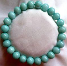 Amazonit Heilstein Perlen Armband