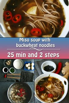 Miso paste is a good source of vitamins, amino acids and antioxidants. It is a common ingredient of Japanese cuisine.