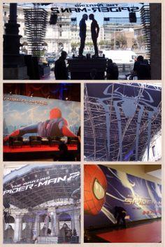 In attesa della conferenza stampa un'assaggio del red carpet di #AmazingSpiderman Il potere di Electro!