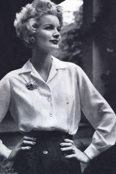 Sunny Harnett for Vogue, 1950s.