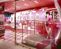 Pink latte store by G, Tokyo store design     #gorillapodlove