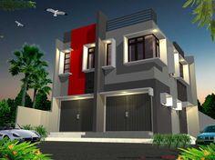 Desain Rumah Minimalis 2 Lantai, Desain Rumah Minimalis Menghemat Lahan - http://www.rumahidealis.com/desain-rumah-minimalis-2-lantai-desain-rumah-minimalis-menghemat-lahan/