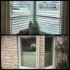 The Case Against Cell Shades. Interior Wood Shutters, Blinds, Shades, Curtains, Home Decor, Decoration Home, Room Decor, Shades Blinds, Blind