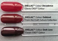 Αποτέλεσμα εικόνας για oxblood cnd shellac