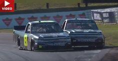 Nascar Truck Drivers Get Into Brawl After Insane Race Ending #NASCAR #Offbeat_News