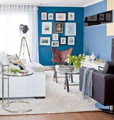 Salas coloridas podem transformar sua casa