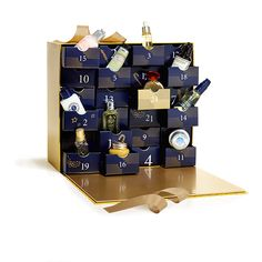 Discover The Luxury Advent Calendar By L'Occitane. Features 24 Irresistible Mini Beauty Products And pull-out drawers.