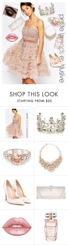 """""""Rose prom ♡♡♡"""" by fashionlovesmia ❤ liked on Polyvore featuring True Decadence, Ted Baker, Kate Spade, Gianvito Rossi, GCGme, Lime Crime and Elie Saab"""