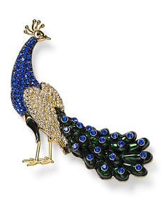 Carolee Peacock Pin | Bloomingdale's Wedding & Gift Registry